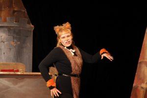 Спектакль Брысь или что сделали с котом сапоги. Театр Камерная сцена г. Лобня